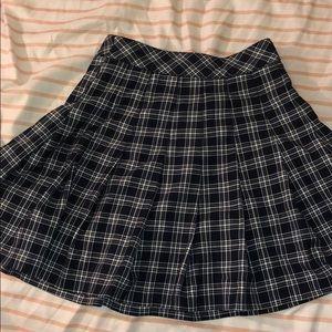 Dresses & Skirts - Plaid navy blue school girl skirt